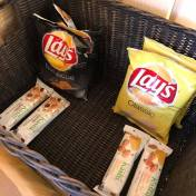 I think the presentation would have been better if these snacks were in a smaller basket.