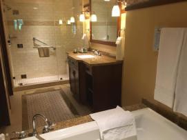 Master Bathroom in the Grand Californian